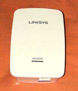 Linksys RE3000W V2 Range Extender Windows 7