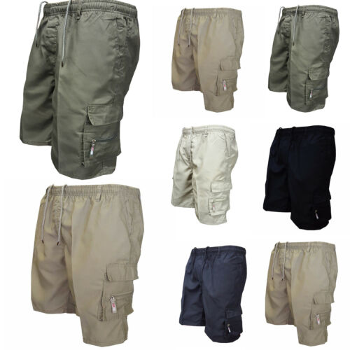 Men/'s Summer Shorts Sports Work Casual Army Combat Cargo Short Pants Trousers XL