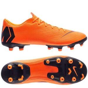 cc7984f3256f Nike Mercurial Vapor XII MG 2018 Soccer Shoes Academy New Orange ...