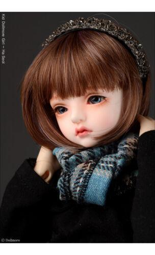 "Dollmore Sky 1//4 1//3 28/"" BJD scarf  Model /& MSD WWT Check Woollen Muffler"