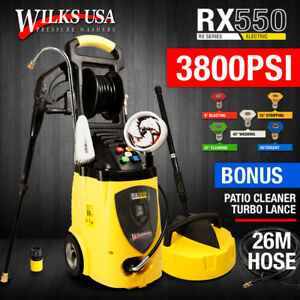 Electric Nettoyeur haute pression 3800PSI induction Patio jet Cleaner ~ Wilks-USA RX550