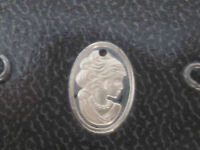 Lovely Lady Design Franklin Mint Sterling Silver Charm - - 1983 (last One)