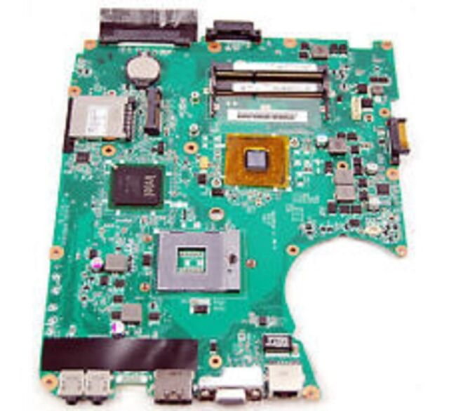 Toshiba L655 Intel Laptop Motherboard s478 DA0BL8MB6B0 Rev:B A000078940