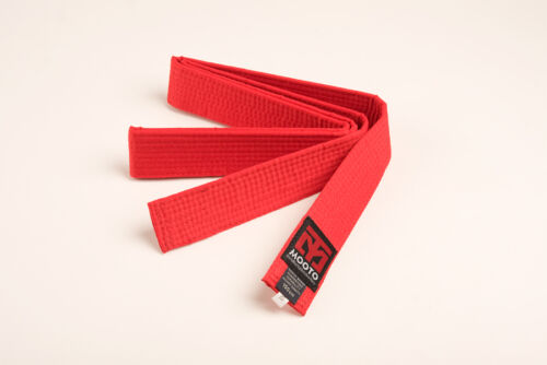 MOOTO 8 COLOR BELT 160cm//180cm TAEKWONDO GRADE BELT TKD Judo Karate Hapkido