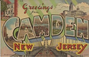 Camden-NEW-JERSEY-1943-LARGE-LETTER