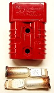 Anderson SB175 Connector Kit Red 4 Awg 6329G6 10 pack 10 Complete Kits