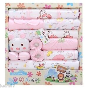 Four-Seasons-Models-Baby-Clothes-Newborn-Gift-Set-Pink