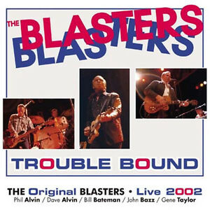 BLASTERS-Trouble-Bound-10-Vinyl-LP-sealed-NEW-1980s-Rockabilly-Phil-Dave-Alvin