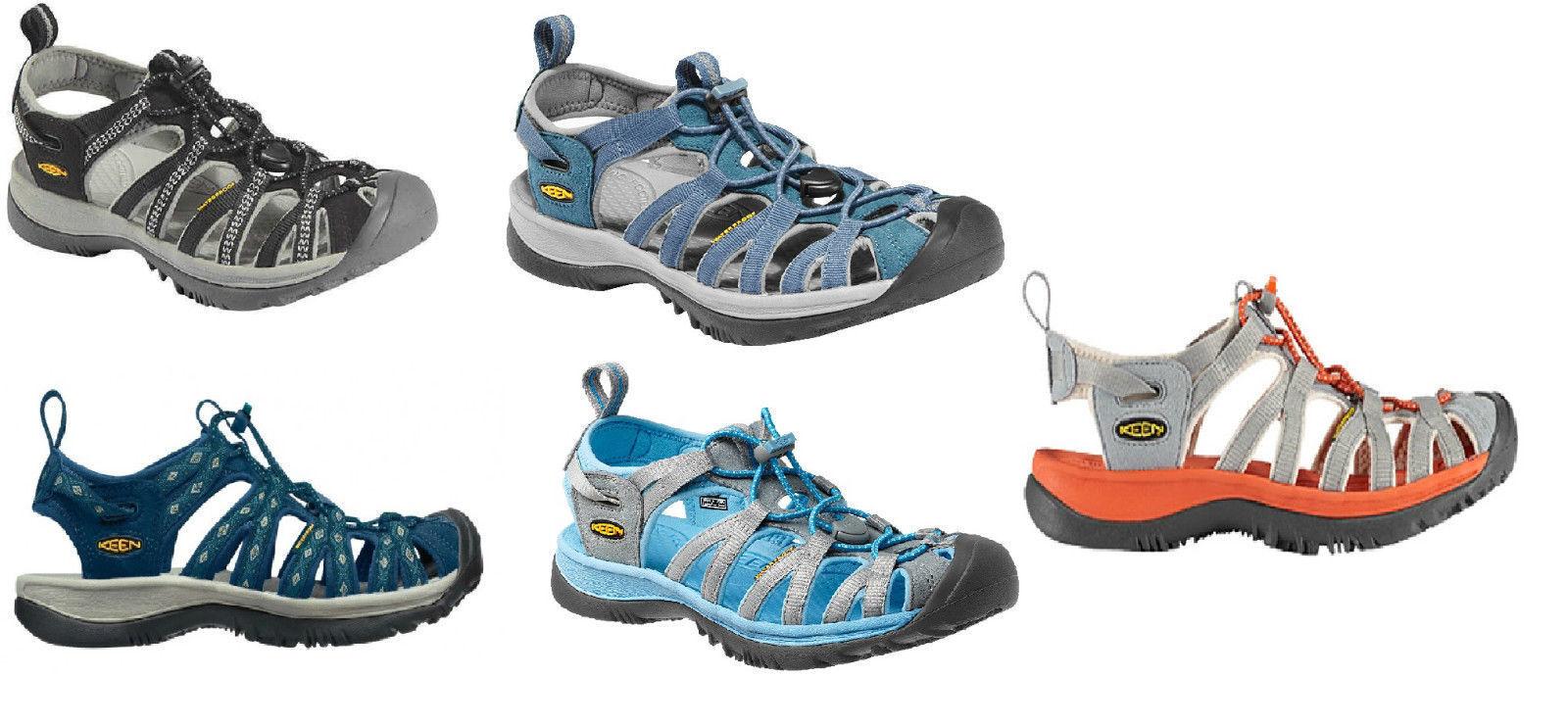 Keen Whisper Damen Trekking Wander Freizeit Sandale neue Farben 2018 anscheuen