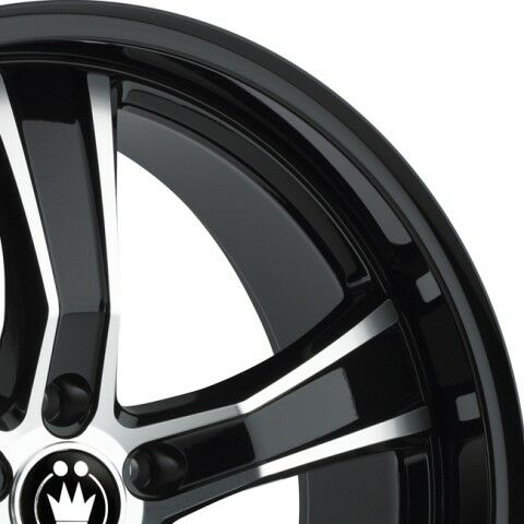 45 Black//Machine Face Wheel 20x9 Konig Airstrike 5x120 1