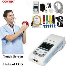 Contec Ecg90a Portable Handheld Single Channel 12 Lead Ecg Machine Pc Software