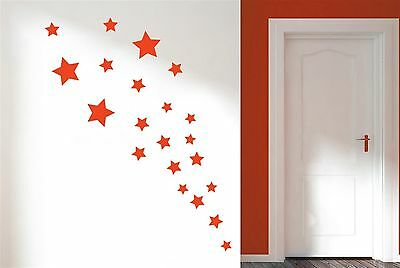 stars Wall Stickers Art Decals