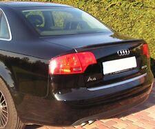 Audi A4 & S4 2005 - 2008 Rear Trunk Spoiler Lip RARE & UNIQUE - fits B7 body ABS