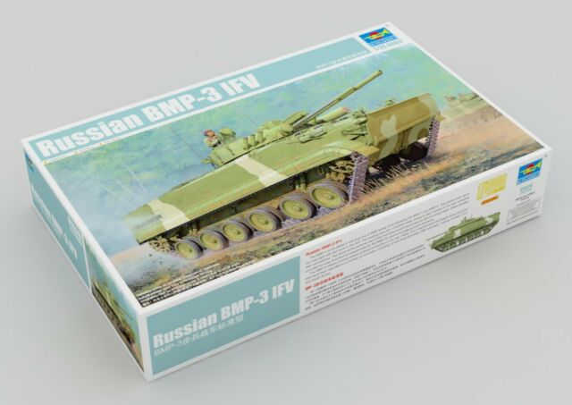 TRUMPETER 01528 1/35 RUSSIAN BMP-3 IFV STANDARD TYPE PLASTIC MODEL ARMOR KIT