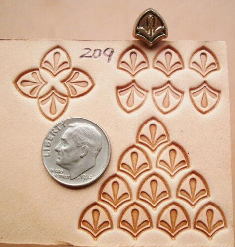 Herramienta Profesional # 209 versión pequeña herramienta de sello de cuero Midas Kelly Midas