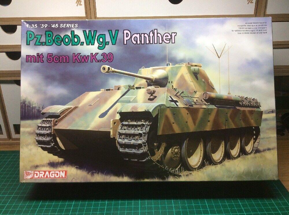 Dragon PZ.Beob.Wg.V Panther mit 5cm KwK.39