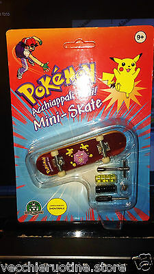 Pokemon Pokèmon Mini Skateboard Mini Skate Giochi Preziosi Koffing New Sealed