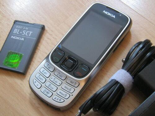 1 von 1 - Nokia 6303i classic in Silber / ohne Simlock / mit Folie / TOPP