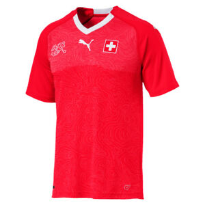 75902430148 Suisse Home Replica Shirt -red puma White 752478 01. About this product.  Stock photo  Picture 1 of 1. Stock photo