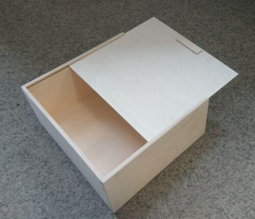 Holzbox aus Birkensperrholz Sonderanfertigung