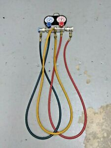 USED-Pittsburgh-AC-manifold-gauge-set-Free-Shipping