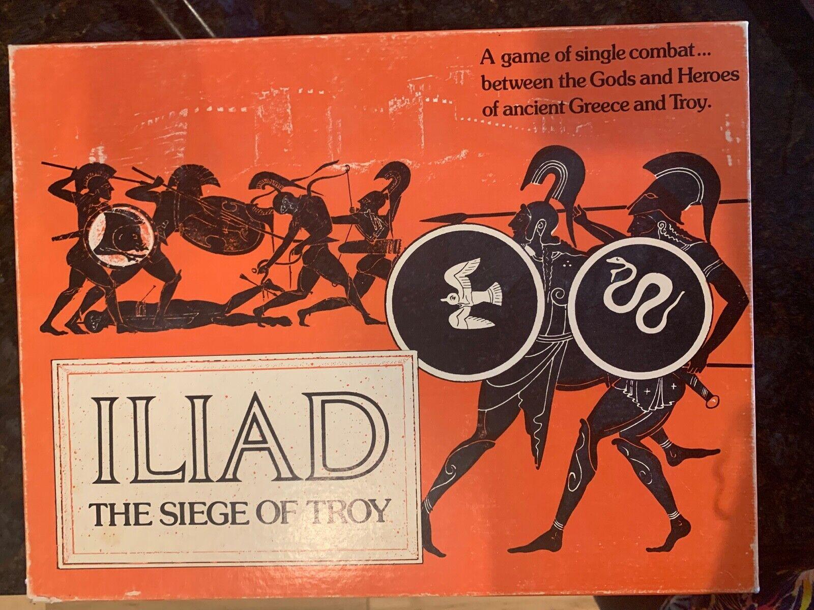 GDW Wargame Iliad - The Siege of Troy Box VG VINTAGE 1978