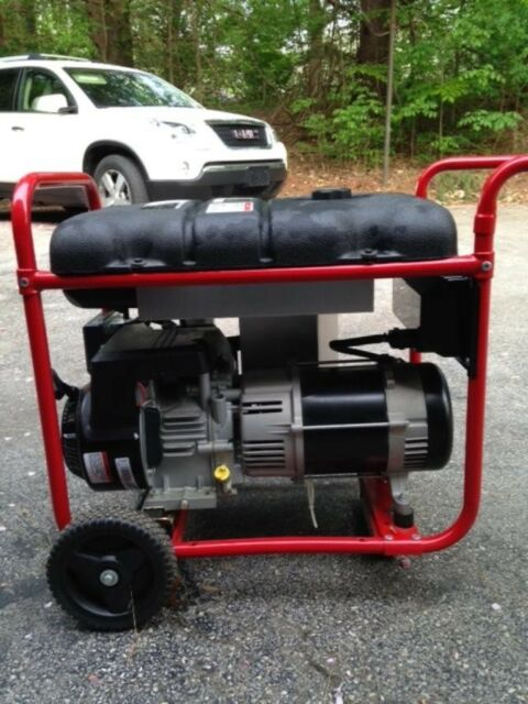 Troy-Bilt Portable Generator  run only for four (4) hours