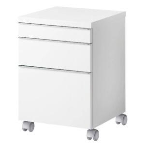 Ikea Besta Burs Rollcontainer Mit 3 Schubladen Kommode Auf Radern