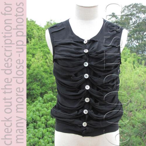 Trendiest Full Lace See-Through Back Black Silk Bu