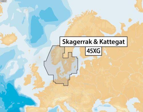 µSD-Karte 45XG Skagerrak /& Kattegat Navionics+