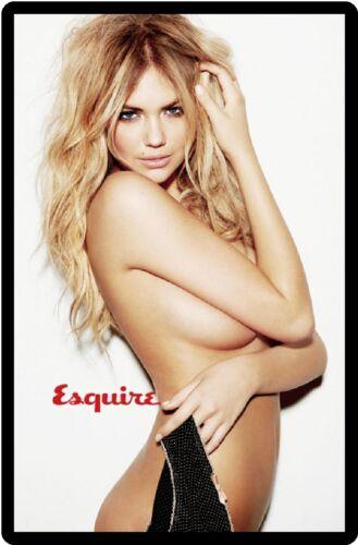 Esquire Magazine Cover Kate Upton Refrigerator Magnet