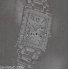 Uhrenkatalog Longines Dolce Vita 9/10 (span.) catalog watches catalogue montres
