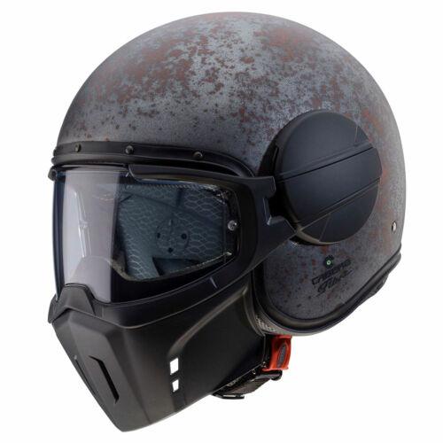 Caberg Ghost Rusty Motorcycle Motorbike Convertible Jet Helmet