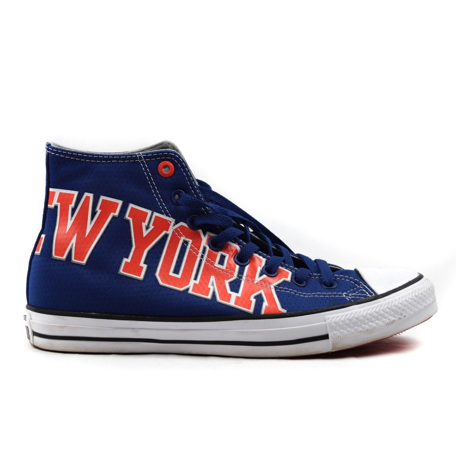 Converse Chuck Taylor NBA Limited New York Knicks schuhe High Top Men 9 New