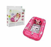 Disney Minnie Mouse Inflatable Safety Bathtub Pink Free Shipping
