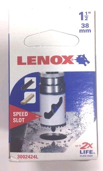 LENOX LEN30024 bi-métal scie-cloche 38 mm