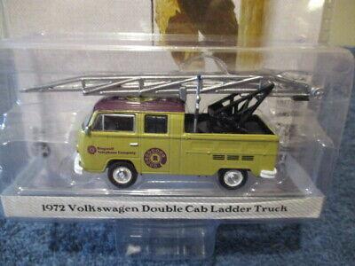 1972 VW T2 Double Cab Doka  Ladder Leiterwagen** Greenlight Norman Rockwell 1:64