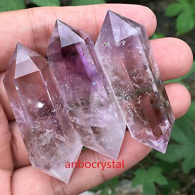 2.2LB Natural howlite quartz obelisk crystal wand point healing