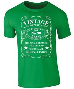 Image Is Loading Vintage 90 Years Old T Shirt 90th Birthday