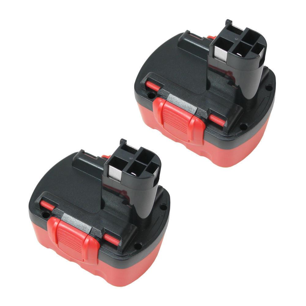 2x Akku 3300mAh Ni-MH für Bosch 13614 33614-2G 53514 GSR14.4V PKS14.4V GSR14.4V2