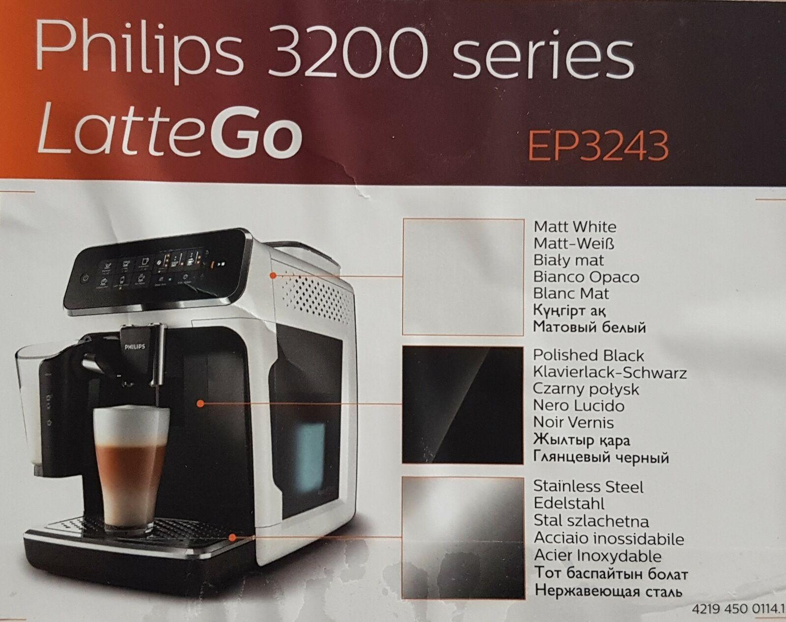 Philips LatteGo 3200 Serie EP324350 Kaffeevollautomat