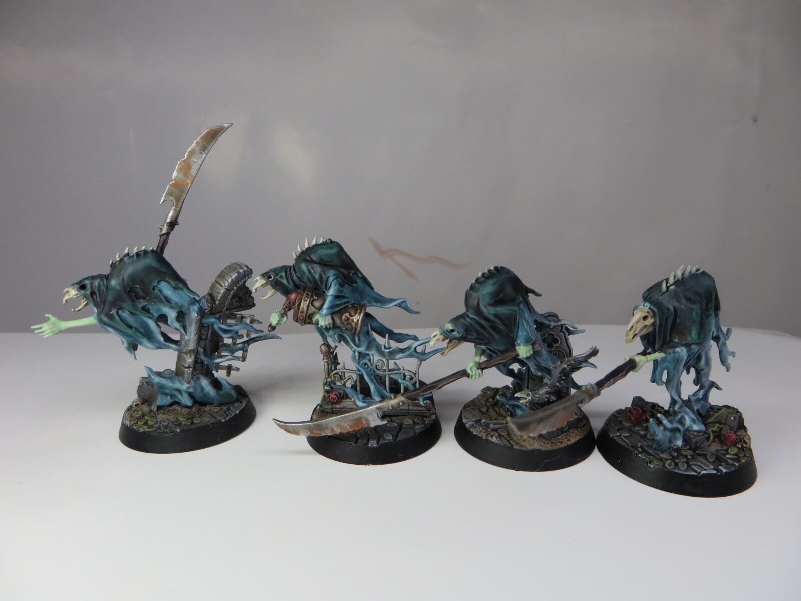 Glaivewraith Stalkers Painted Age of Sigmar Soul Wars Nighthaunt