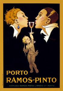 AZ06-Vintage-1920-Porto-Ramos-Pinto-Port-Wine-Advertisement-Poster-A1-A2-A3