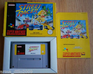 STREET-RACER-for-SUPER-NINTENDO-SNES-COMPLETE-IN-EXCELLENT-CONDITION-by-Ubi-Soft
