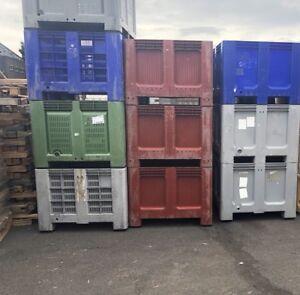 Plastic Pallet Box Storage Bins, Dolav, Saeplast, Shoeller Alibert, Magnum