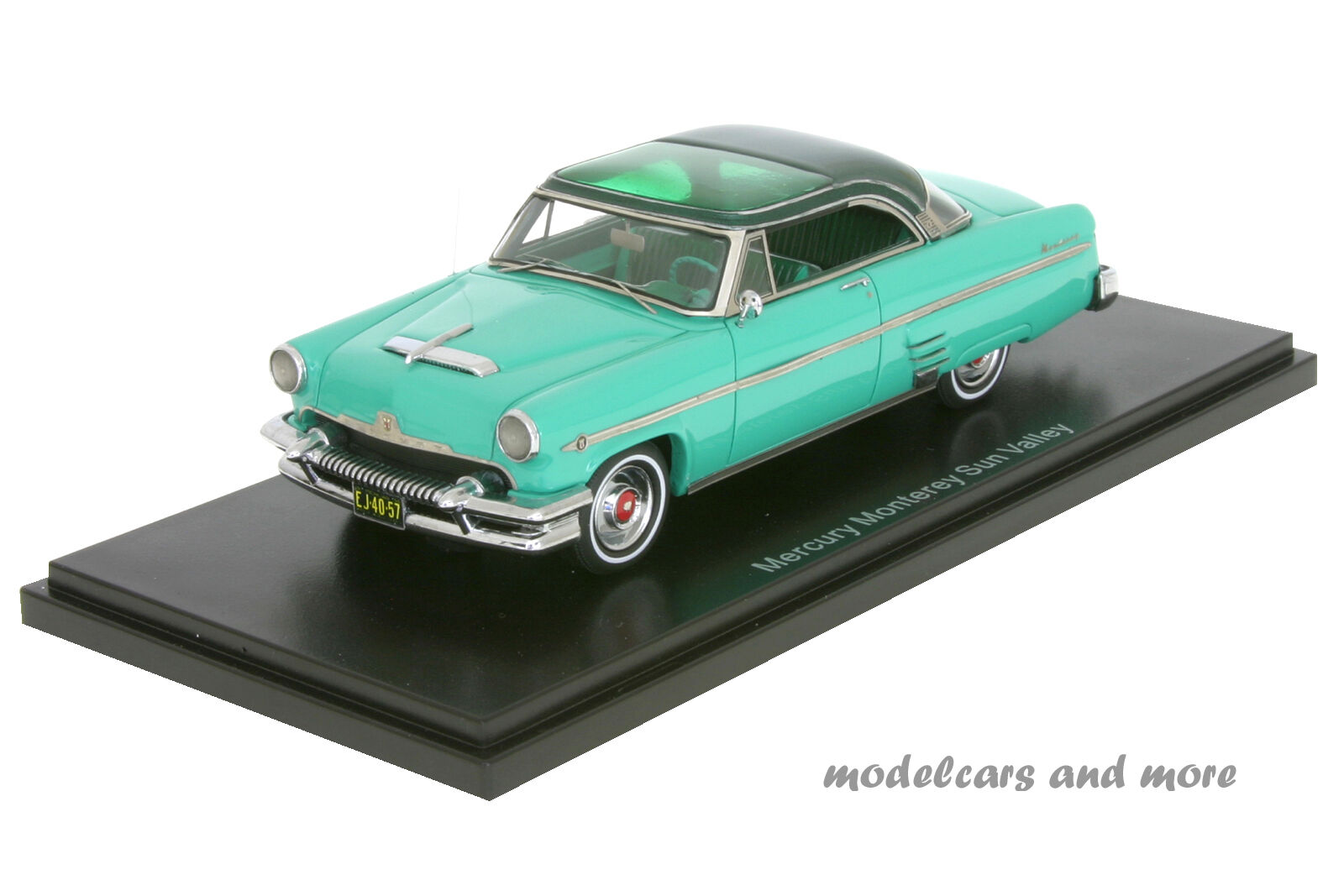 Mercury Monterey Sun Valley  1954  türkis dunkelgrün  1 43  NEO 44057  NEU OVP  | Hohe Qualität