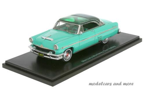 Mercury Monterey Sun Valley 1954 turquesa verde oscuro 1:43 neo 44057 nuevo embalaje original
