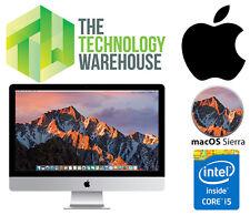 APPLE iMAC 21.5 -MID 2011, I5-2400S 2.5GHZ CPU, 8GB RAM, 500GB HD, MAC OS SIERRA