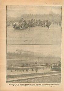 Paris-Parade-Tanks-Chars-Esplanade-des-Invalides-Sous-Marin-Submarine-1918-WWI