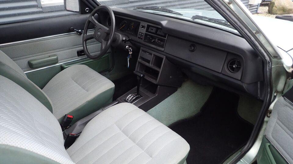 Ford Taunus 1,6 Savoy aut. Benzin aut. Automatgear modelår